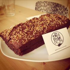 Nouvelle FREEandise: cake choco-coco, 100% VEGAN!  All organic, gluten and lactose free.
