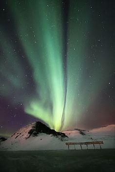 Aurora Boreal en #Islandia #Iceland