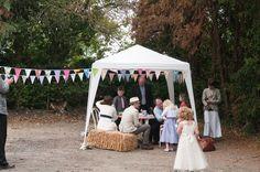 Boho Planned Weddings: Rachel and Kevin's DIY village fete wedding - Boho Weddings™