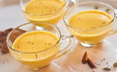 Golden Milk Recipe - 1/4 cup turmeric, 1/2 tsp pepper, 1/2 cup water & (modified from original recipe) couple dashes cinnamon & nutmeg & clove & ginger & cardamom & vanilla,.  Boil to thick paste.  Add honey.  Jar.