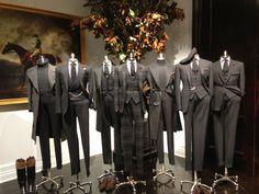 showroom presentation for Ralph Lauren, Fall/Winter, pinned by Ton van der Veer
