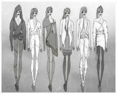 Картинки по запросу скетчи мода как рисовать