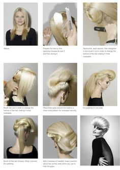 The Quiff,  Hair by Anne Veck http://janelistyle.com