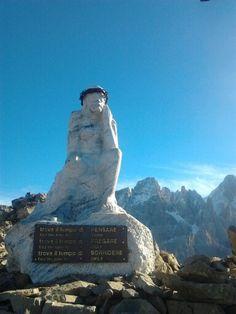Cristo pensante monte Castellazzo