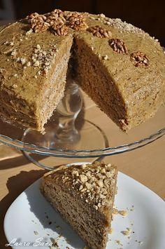 Sweets Recipes, Cake Recipes, Romanian Desserts, Food Cakes, Vanilla Cake, Nutella, Banana Bread, Sweet Treats, Bakery