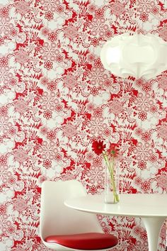 'Party Girl Wallpaper by Flavor Paper. @2Modern'