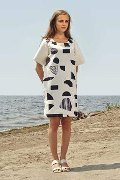 Robe imprimée Jee Marigold par Marilyne Baril x Frédérique Gagnon 209.00 $