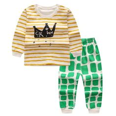eaa90a6a7 20 Best Newborn Baby Girl And Boys Clothes Set Long Sleeve Tops+ ...