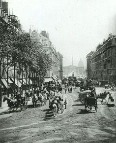 rue royale milieu des annees 1860