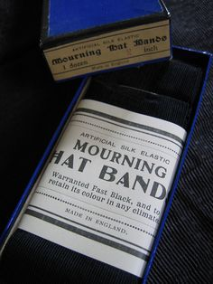 Mourning Hat Bands
