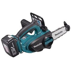 Makita BUC122RFE 18V 1/4-inch/ 115mm LXT Chainsaw with 2 Batteries