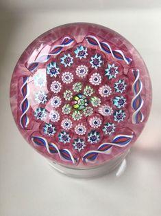John Deacons Pink Millefiore Paperweight | Pottery & Glass, Glass, Art Glass | eBay!