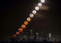 """""""พระจันทร์ขึ้น"""" ภาพ 11 ภาพนี้ ถ่ายในช่วงเวลา 28 นาที  http://twitter.com/ThatsEarth/status/346433523374243840/photo/1 via @ThatsEarth"""
