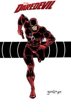 CHRIS MALGRAIN Marvel Lee, Marvel Heroes, Comic Books Art, Comic Art, Book Art, Daredevil Punisher, Paper People, American Comics, Character Portraits