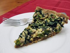 Eggless quiche with spinach, mushrooms, and broccoli rabe makes a great meal for breakfast, lunch or dinner. What a tasty recipe from La Vegetariana! Find it here: http://goodveg.squidoo.com/recipes/breakfast-recipes/eggless-quiche-with-spinach-mushrooms-and-broccoli-rabe.
