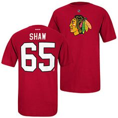 Get this Chicago Blackhawks Andrew Shaw Name and Number T-Shirt at ChicagoTeamStore.com