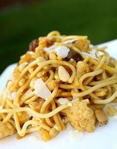 Inspired Bites: Sicilian Pasta with Cauliflower