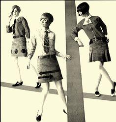 OP-Art Fashion, 1967.