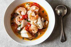 camarones + maiz in a stew? si, senor!