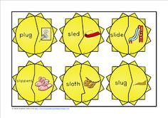 FREEBIE L Blends Sunshine Puzzles are perfect for literacy centers, rotations, stations, early finishers, or small groups. This is a fun engaging reading work work your students will enjoy!