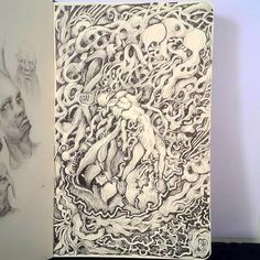 Nuno Pinto (@nuno_fpinto) • Instagram photos and videos Fantasy Art, Doodle, Trees, Sketches, Shower, Photo And Video, Videos, Prints, Photos
