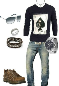 Men's fashion casual outfit