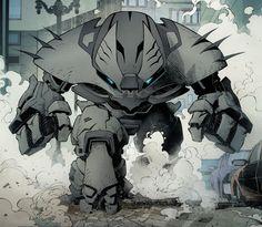 Batman's Anti-Justice League Buster Suit