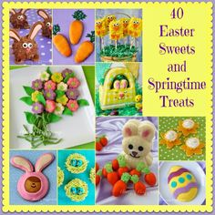 Hungry Happenings: 30 Easter Brunch and Lunch Kitchen Crafts & Recipes