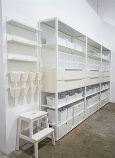 oh joy studio craft room: before and after! (Oh Joy!)- oh joy studio craft room: before and after! (Oh Joy!) oh joy studio craft room: before and after! Craft Room Storage, Art Supplies Storage, Art Storage, Craft Organization, Storage Room Ideas, Ikea Craft Room, Ikea Craft Storage, Art Studio Storage, Garage Storage