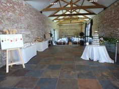 Wedding Layout at Hendall Manor Barns