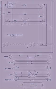 #420 Router Pantograph Plans - Router