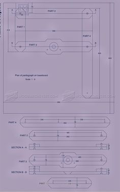 #420 Router Pantograph Plans - Router Tips, Jigs and Fixtures