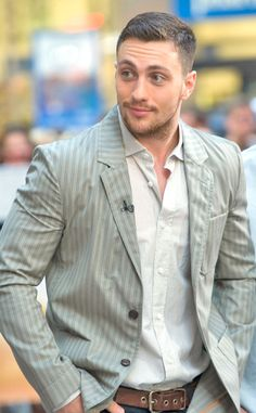 He is looking fiiiiine! Fifty Shades of Aaron Taylor-Johnson: Why the Director's Husband Is Perfect to Play Christian Grey   E! Online Mobile