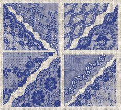 Navy Blue Lace PNG Clipart by Origins Digital Curio on @creativemarket