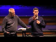 Davey Blackburn, pastor of Resonate Church in Indiana, speaks at the contemporary service of First Baptist Church in Indiana on 11-29-15.
