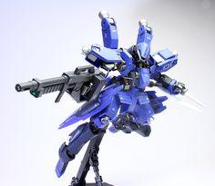 GUNDAM GUY: 1/100 Schwalbe Graze [McGillis Custom] - Painted Build