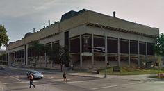 George L. Mosse Humanities Building - 1969 by Harry Weese - #architecture #googlestreetview #googlemaps #googlestreet #usa #madison #brutalism #modernism