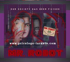 MR ROBOT. Tra reale, virtuale, intrapsichico e desiderio di rivoluzione. Ci parla delle macchine, del sistema e della psicologia degli uomini che vivono in questo sistema a stretto contatto con la tecnologia. http://www.psicologo-taranto.com/mr-robot-reale-virtuale-intrapsichico-desiderio-rivoluzione