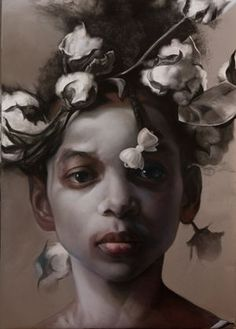 Margareth Bowland - Another Thorny Crown 4.... Really thought provoking... I don't know how I feel about it.