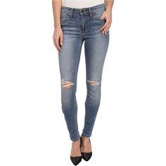 Joe's Jeans Flawless Mid Rise Skinny in Bernnie Women's Jeans, Blue ($90) ❤ liked on Polyvore