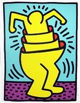 Keith Haring Untitled (Cupman) 1989 Opus Art Ltd