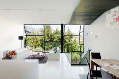 moderne witte slaapkamer veel glas - Google zoeken