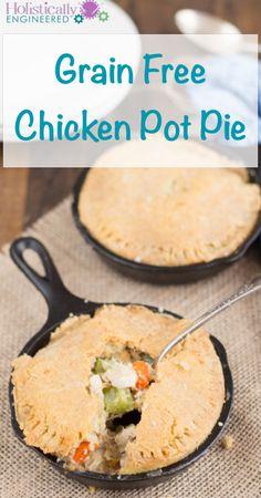 Grain Free Chicken Pot Pie