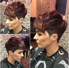 Speciaal voor dames met bruin haar: 10 hippe korte modellen in de mooiste bruine kleurtjes. - Kapsels voor haar