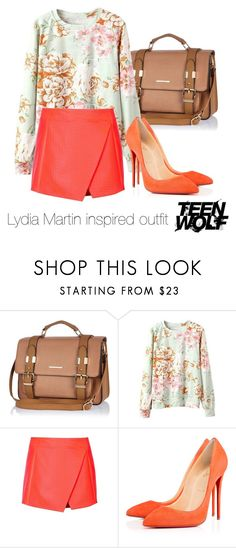 """""""Lydia Martin inspired outfit/Teen Wolf"""" by tvdsarahmichele ❤ liked on Polyvore featuring River Island and Topshop"""