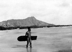 early 1900s Hawaii surfers | the 19th Century Surfing Was its Lowest Ebb. This Lone Hawaiian Surfer ...