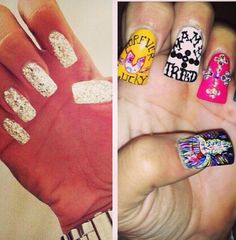 Lovely nails by Gypsy Soule