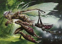 Oona's Prowler art by Wayne Reynolds