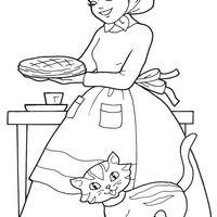 Desenho De Mamae Da Chapeuzinho Vermelho Para Colorir Com Imagens