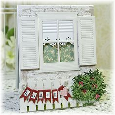 In My Little Korner: Home and Heart...(Another Window Card)